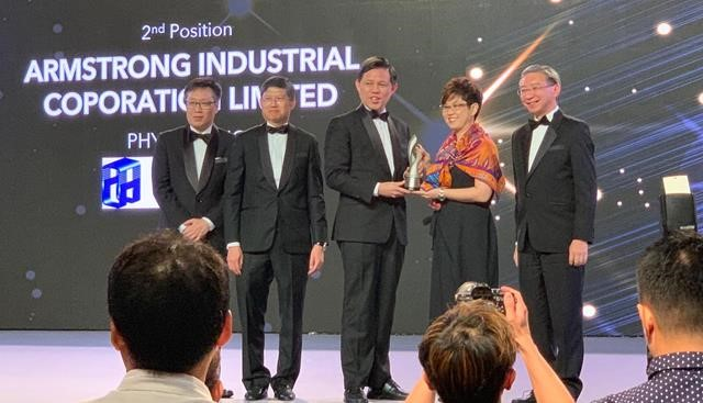 Armstrong Places 1st Runner Up in E50 Awards