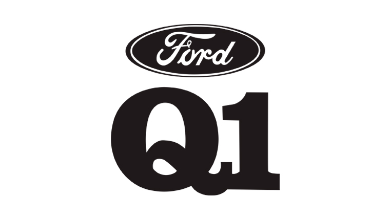 Q1 Achievement Award With Ford